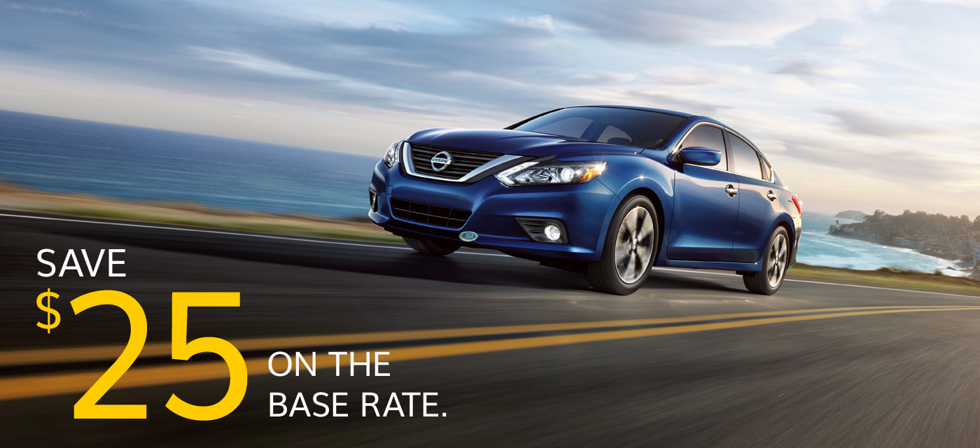 SAVE %25 ON THE BASE RATE.